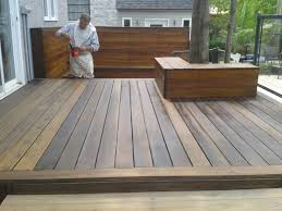 Teindre la terrasse
