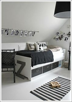 id es d co pour chambres d ados. Black Bedroom Furniture Sets. Home Design Ideas