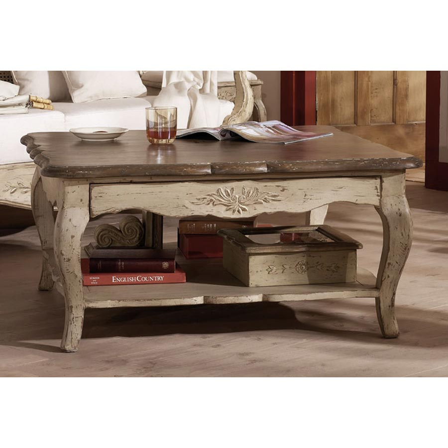 Meubles anglais meuble shabby chic d coration style - Decoration table basse de salon ...