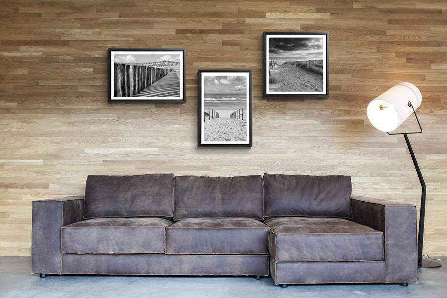 Inspiration habiller les murs conseil decoration - Papier peint trompe l oeil brique ...