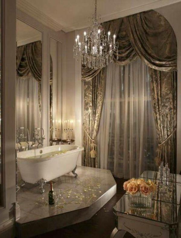 La baignoire à patte de lion, un must de la décoration baroque