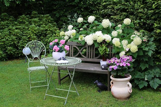 Créer chez soi un jardin romantique - Conseil decoration