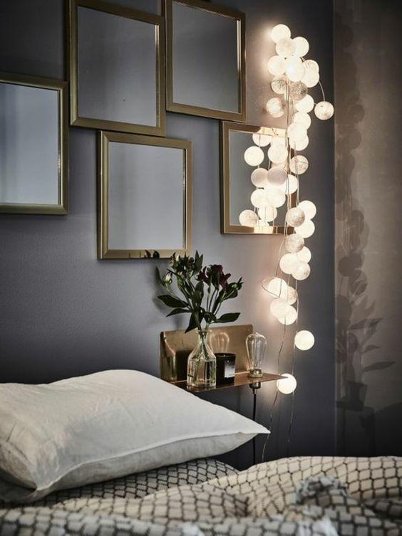 Créer une atmosphère douce avec des jolis luminaires