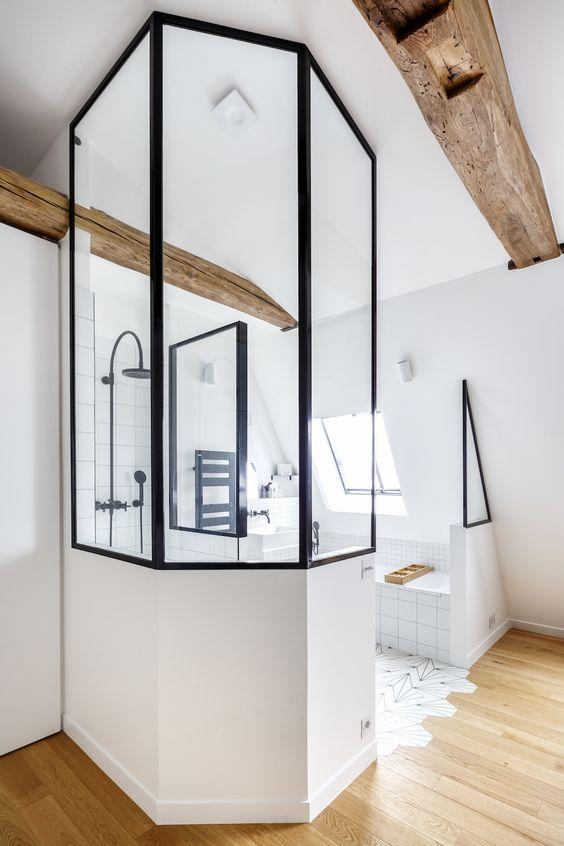 5 id es d co pour la salle de bains rep r es sur pinterest - Salle de bain pinterest ...