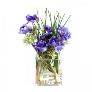 composition fleur artificielle