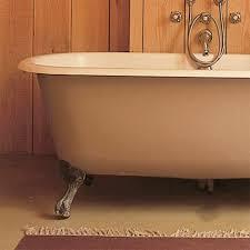 baignoire à effet craquelé